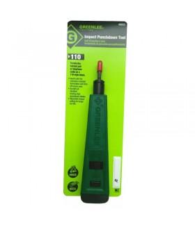 GT-46023 Инструмент для заделки кабеля в кросс-панель 110 Greenlee