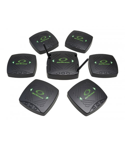 GT-ASK306 Greenlee AirScout306 - анализатор WiFi сети с 6-ю удаленными клиентами