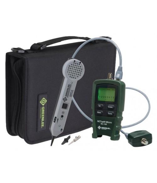 GT-NC100-KIT Greenlee NC100-KIT - комплект кабельного тестера NetCat Micro