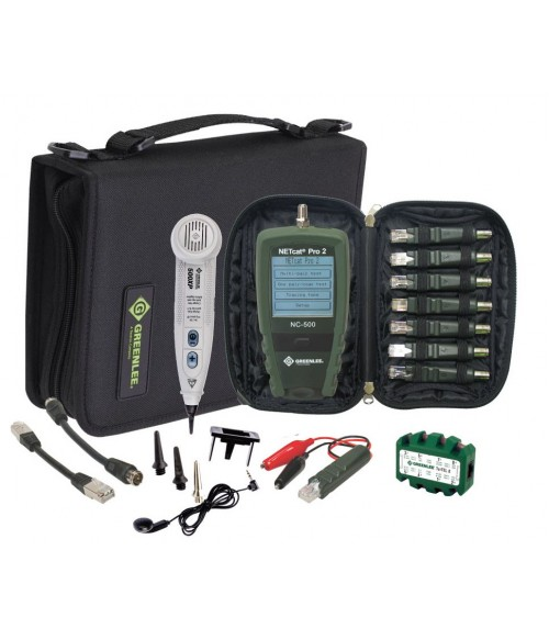 GT-NC-KIT Greenlee NetPro KIT - набор для тестирования сети