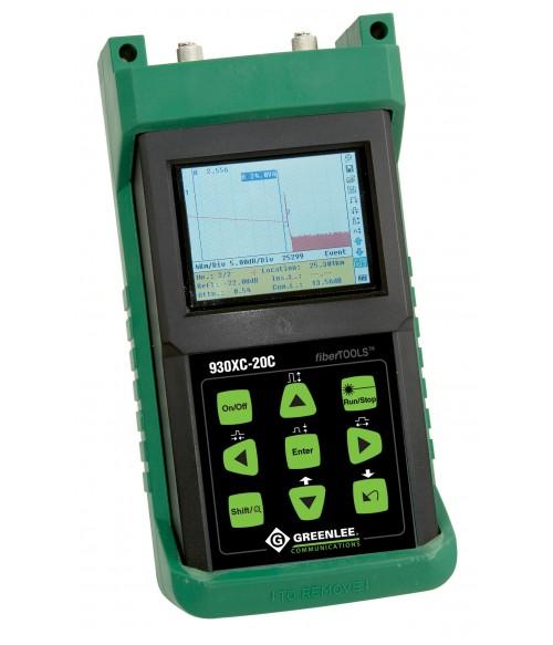 GT-930XC-20C-UPC-FC Greenlee 930XC-20C - оптический рефлектометр (1310/1550нм)