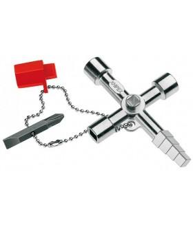 KN-001104 Ключ для электрошкафов профессиональный Knipex