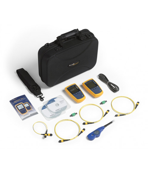 FL-MFTK-SM1310 MultiFiber Pro Kit - набор для тестирования ВОЛС с разъемами MPO (PM и LS 1310 нм) Fluke Networks