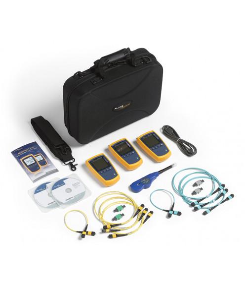 FL-MFTK-MM850-SM1550 MultiFiber Pro Kit - набор для тестирования ВОЛС с разъемами MPO (PM и LS 850 и 1550 нм) Fluke Networks