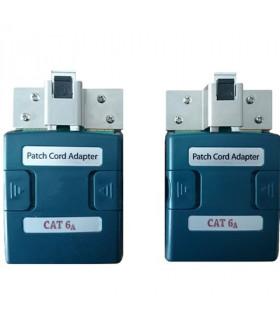 Psiber 6A_PCORD2 Набор адаптеров для тестирования патчкордов CAT6A - 2шт