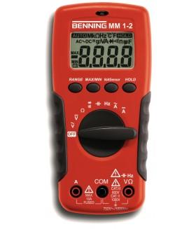 044082 Цифровой мультиметр MM 1-2 BENNING