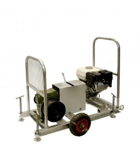 Лебедка бензиновая автономная с усилием до 10kN (1000кг) Шток