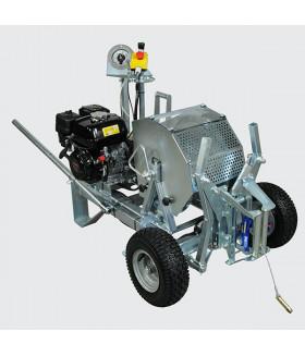 232310 SBS 510 Лебедка троса-лидера, бензиновая, усилие 500 даН, без троса (d 4 до 1100 м) VETTER