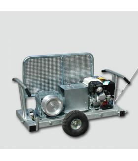 233310 FAG 10B Шасси с двумя колесами для перемещения лебедки SPW 10B VETTER