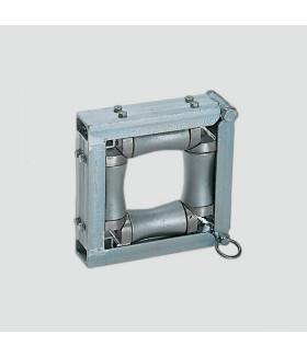 202130 ER 4-100A Направляющий ролик с 4 алюминиевыми валиками 100x100 мм VETTER