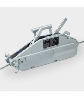 550310 SZA 16 Канатная лебедка для подъема,1600 kg, rope-D 11,5 мм hook load 1600 kg VETTER