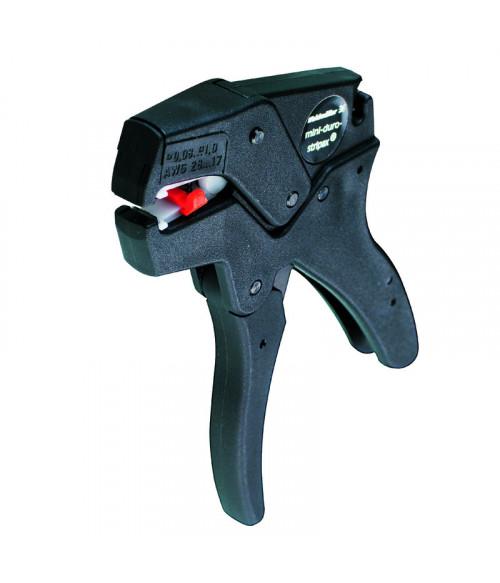 9001280000 Инструмент Mini-duro-stripax для снятия изоляции (пфх, силикон) и резки проводов d 0.08-1ммкв Weidmueller