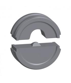 9016190000 Профиль для изолированных медных наконечников и Разъёмов без припоя для инструмента MTR 300 EINSATZPAAR ISO 16QMM Weidmueller